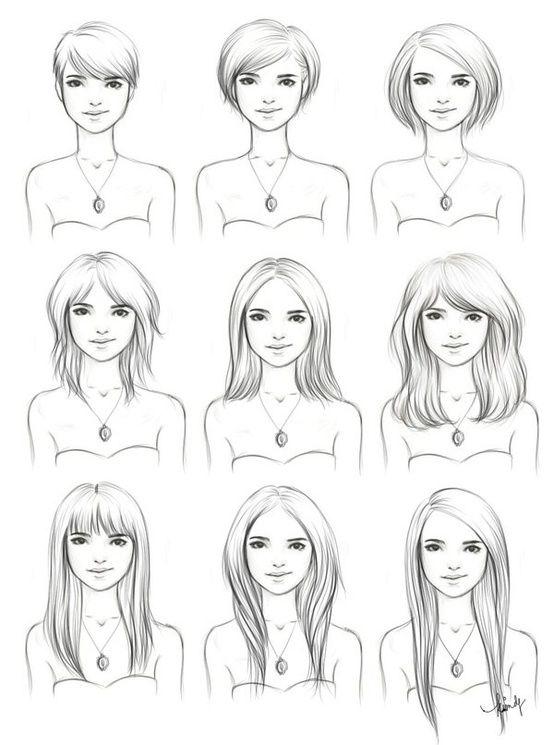Short Hair Drawing : short, drawing, Kimpertinent's, DeviantART, Gallery, Growing, Hair,, Short, Styles,, Beauty