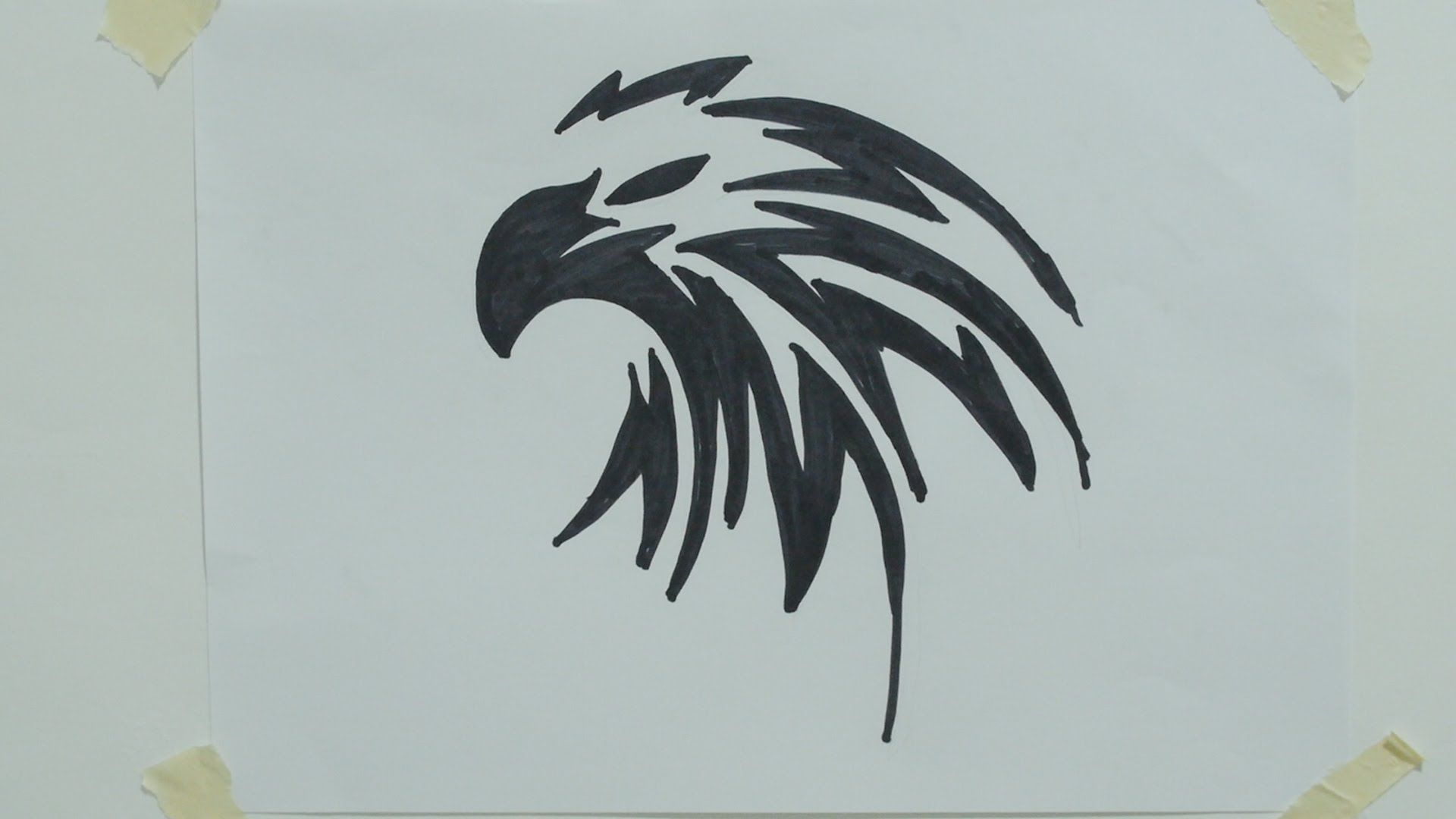 Image result for how to draw an eagle head easy | art | Pinterest ...