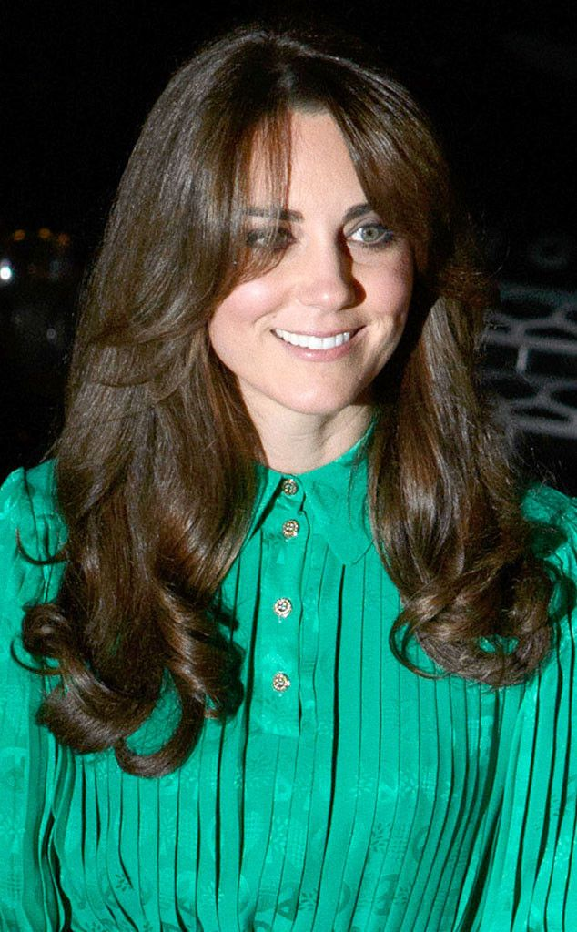 Bang Up Job From Kate Middletons Best Hair Moments