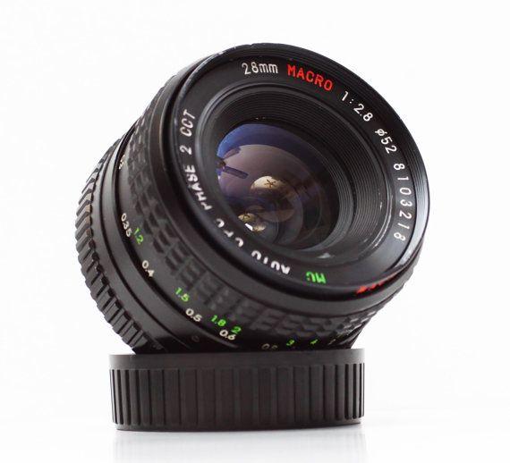 Vintage Cpc 28mm F 2 8 Minolta Md Mount Prime Wide Angle Macro Lens For Slr Dslr Micro Four Thirds M4 3 Camera Manual Focus Vintage Lenses Macro Lens Vintage
