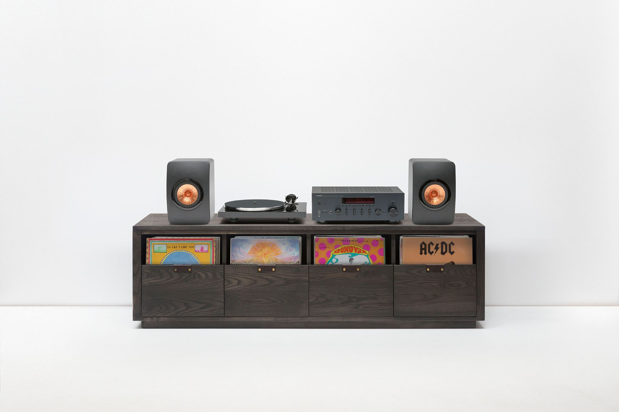 Symbol Audio Dovetail Vinyl Record Storage