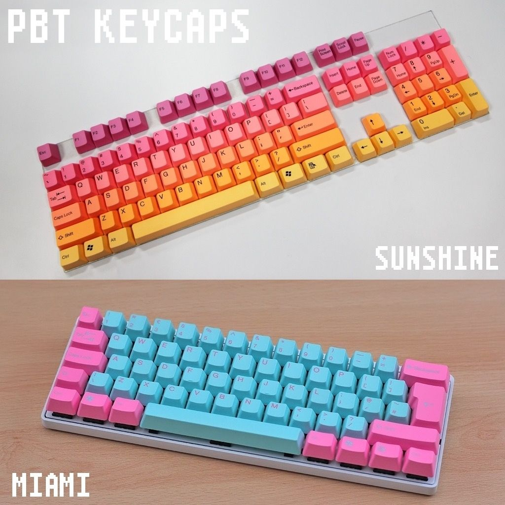 Add Some Colour And Flair To Your Mechanical Keyboard With
