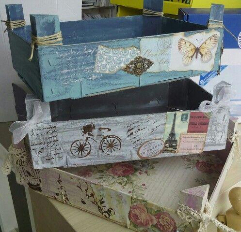 Cajas Decoradas Tallerdescrap Cajas Decoradas Caja De Frutas Decoradas Caja De Fresas Decorada