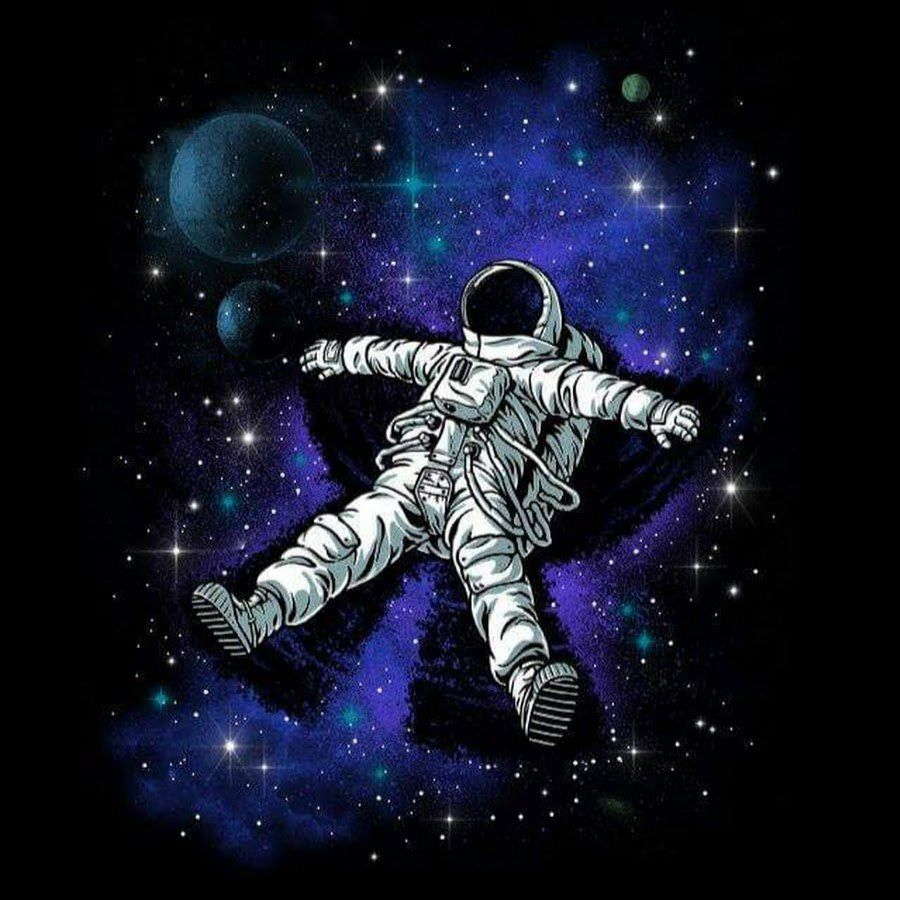 Space Illustration, Art, Drawings