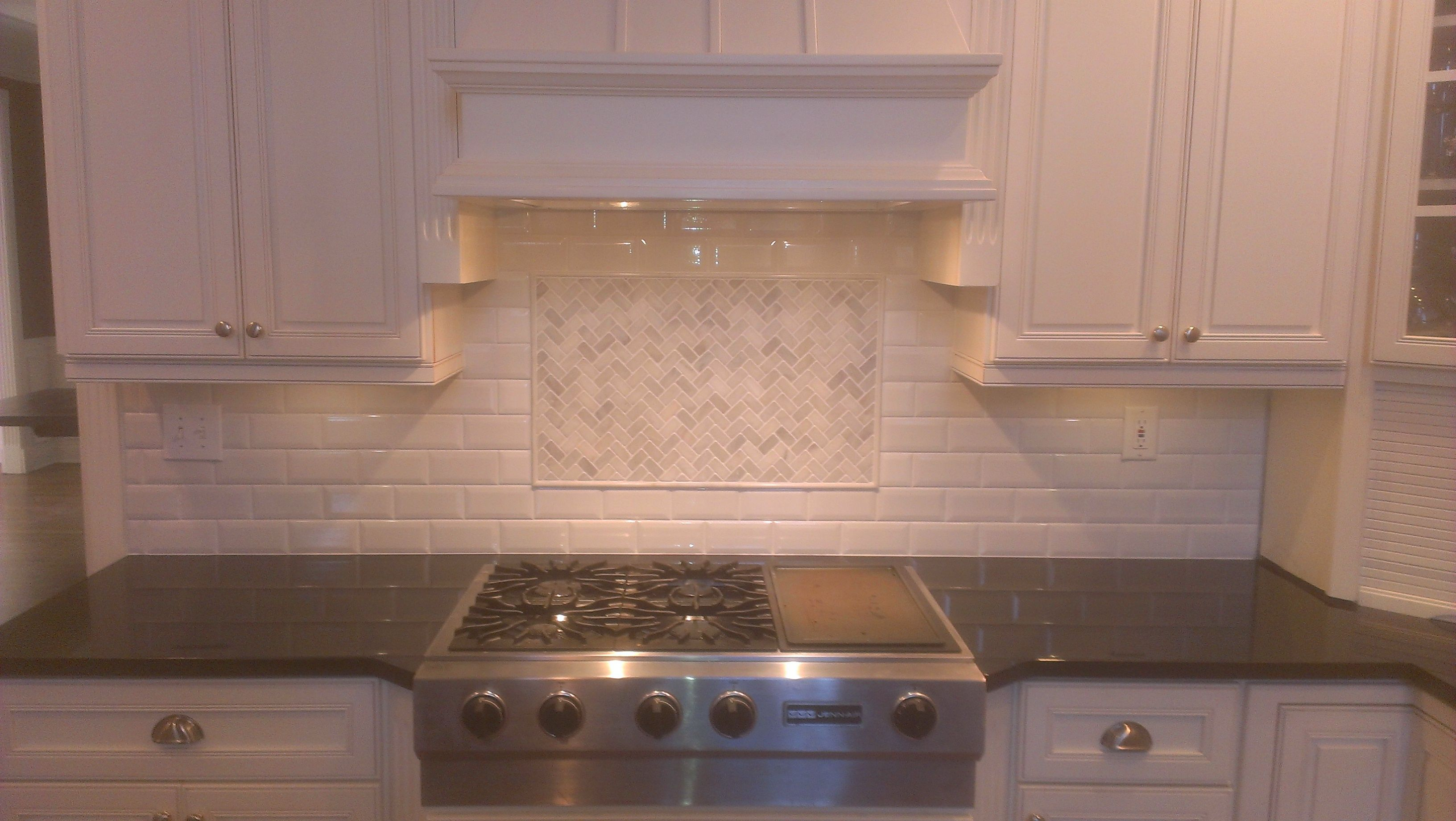 Crackle Subway Tile Subway Tile Backsplash Kitchen