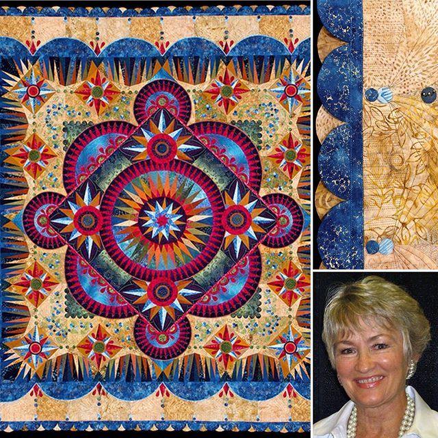 This stunning quilt, ARANDANO, by Marilyn Badger of St. George, UT ... : daytona beach quilt shops - Adamdwight.com