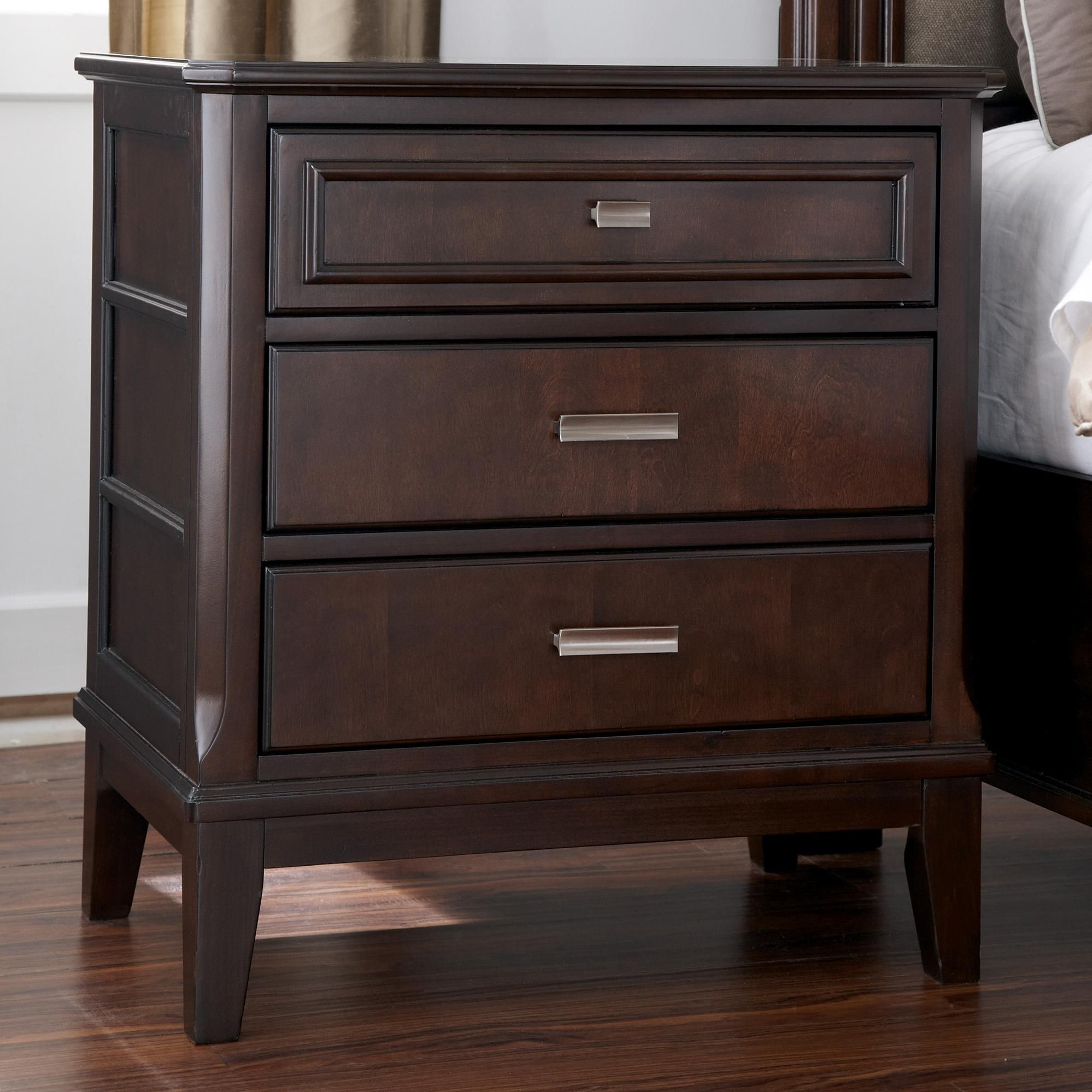 Bedroom Night Stands Dumont Cherry Nightstand Best