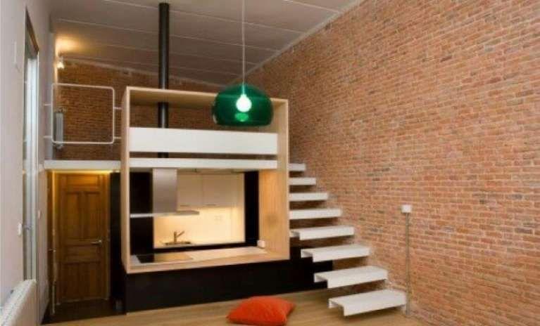 Arredare un monolocale di 35 mq appartamenti piccoli for Monolocale 35 mq