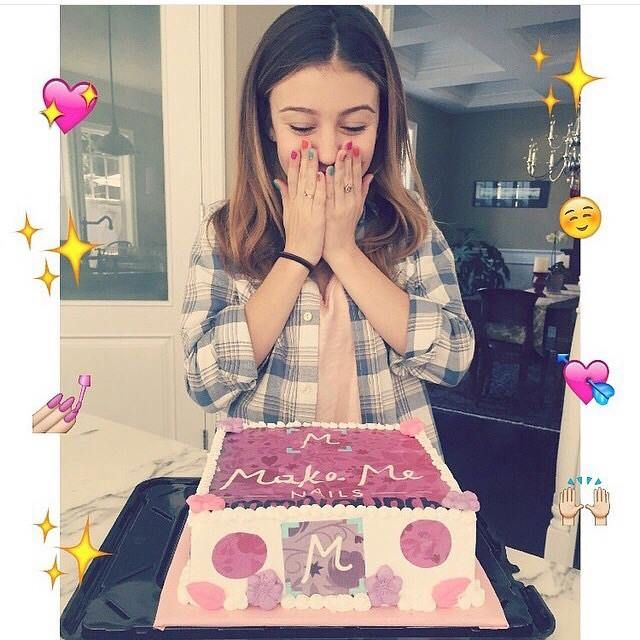 tbt Make Me Nails launch with G Hannelius! Adorable MMN ice cream ...