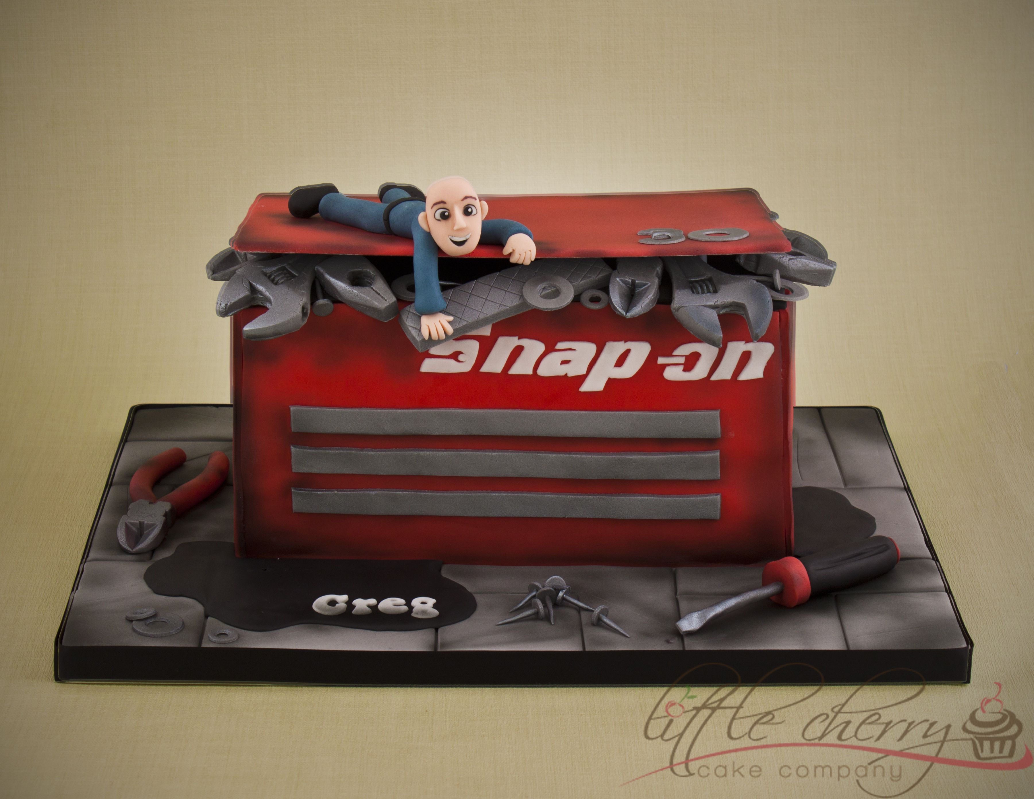 Snap On Tool Box Cake Snap On And Matco Tools In 2018 Pinterest