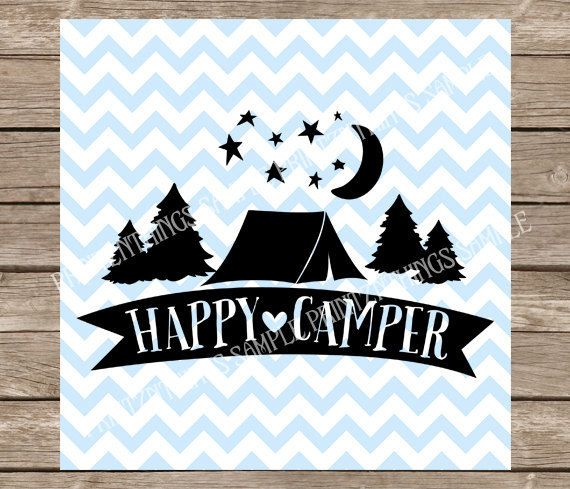 Camping Svg Happy Camper Svg Tent Svg Camping Svg Summer