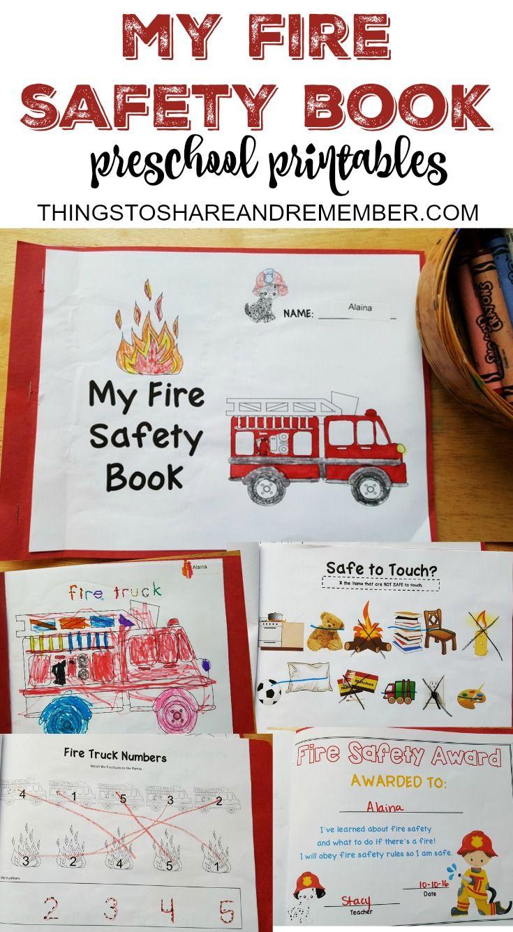 Preschool Fire Safety Booklet Printables Fire Safety Booklet Fire Safety For Kids Fire Safety Preschool [ 1335 x 735 Pixel ]