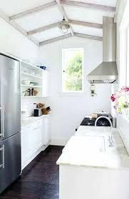 Small Galley Kitchen Layout & Small Galley Kitchen #ikeagalleykitchen