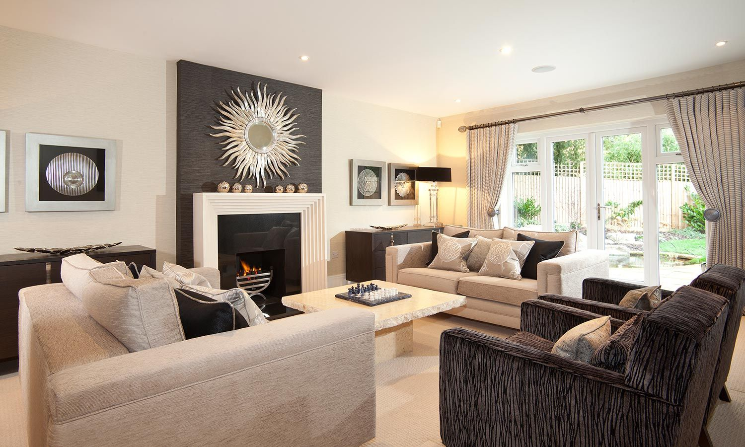 Designer Touches Surrey Uk Gallery 2 Formal Living Room Decor