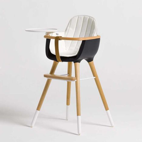 Spanish Designers Culdesac Have Designed This High Chair With Removable Legs And Accessories So That It S Still Use Modern High Chair High Chair Kids Furniture