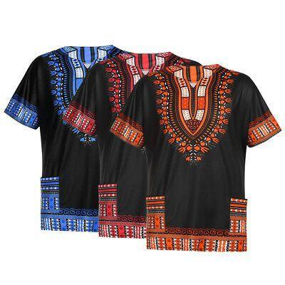 (Advertisement)eBay- Men African Clothing Dashiki Style Printing Tops T-Shirt Lo... #afrikanischerstil
