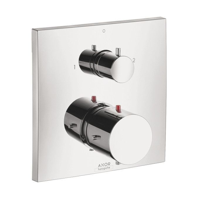 Hansgrohe 10726001 Chrome Axor Starck X Thermostatic Valve Trim With Integrated Diverter And Volume Controls Mega Supply Store Badkamer Home Decor