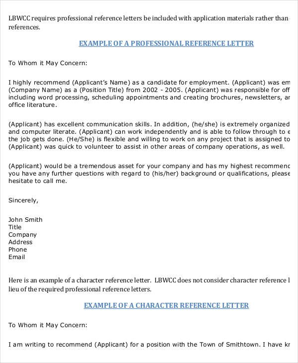 how to write a personal recommendation letter for Cute Pinterest - professional reference