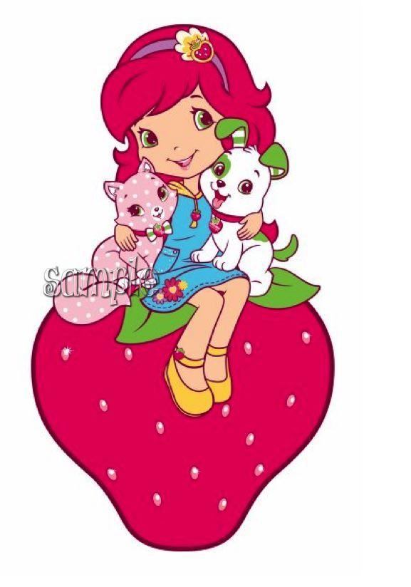 Strawberry Shortcake Cartoon Characters | Strawberry ...