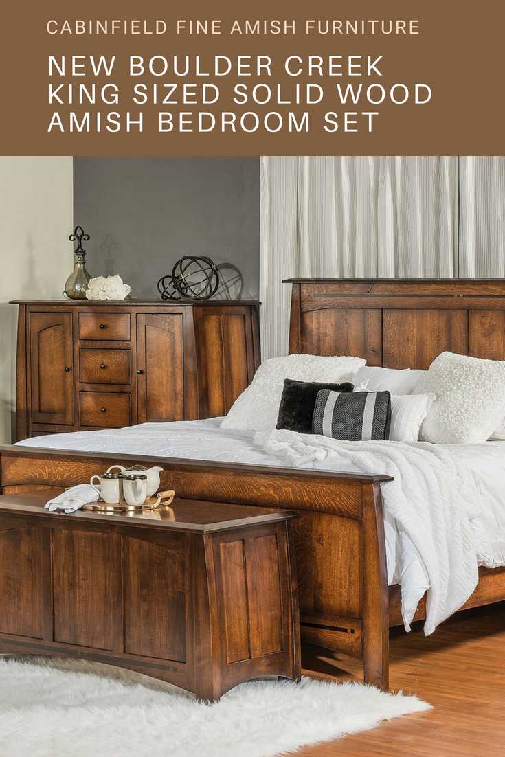 Boulder creek series u mission amish bedroom furniture
