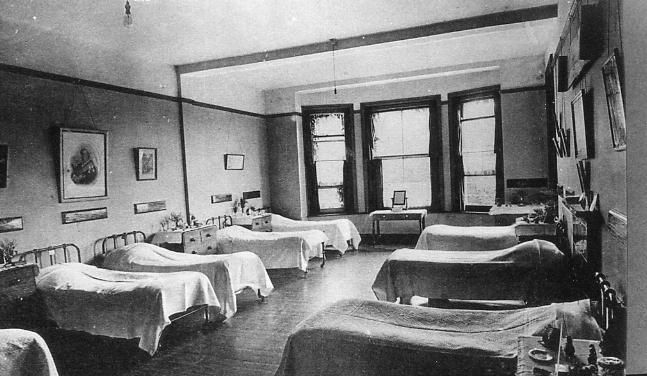 Dormitory Beds In Police Orphanage 1920s Redhill