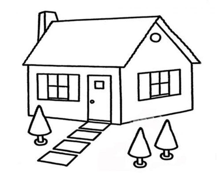 Gambar Mewarnai Rumah Untuk Anak Paud Buku Mewarnai Kartun Gambar Kartun
