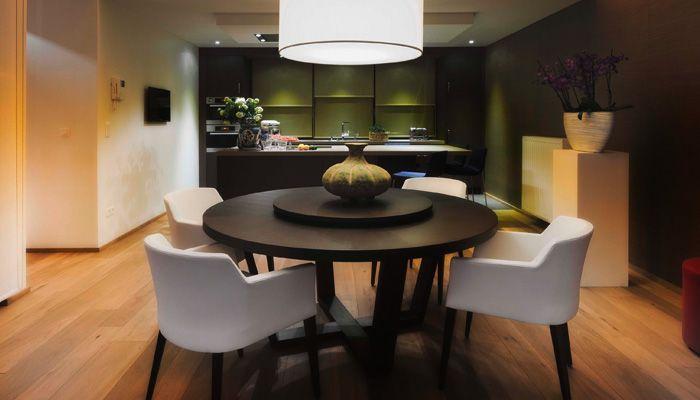 Open keuken met eiland keuken pinterest open keuken keuken en verlaagd plafond for Open keuken met bar