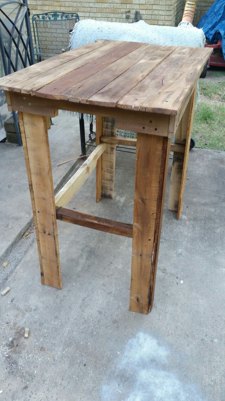 2 Person Dining Table Before Stain Dining Table Rustic Dining