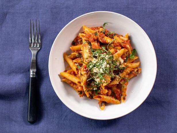 Get Penne Arrabiata Recipe from Food Network