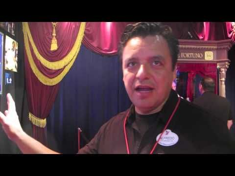 D23 Expo: R2-D2 Interacts With Disney Imagineering's Fortune Teller