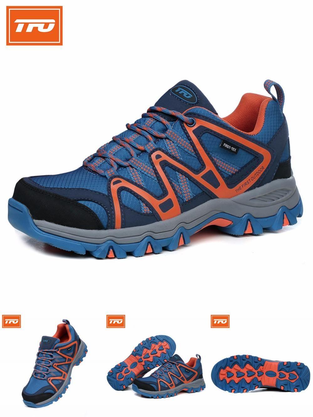 10d84fd185d Visit to Buy] TFO Men Trekking Shoes Outdoor Hiking Waterproof ...