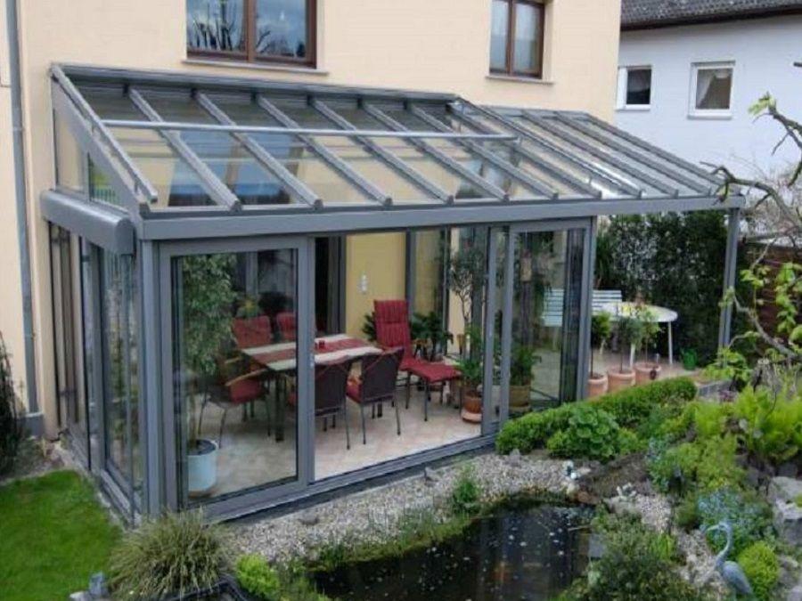 Giardino Dinverno Veranda : Giardino d inverno in alluminio ts alu veranda giardino