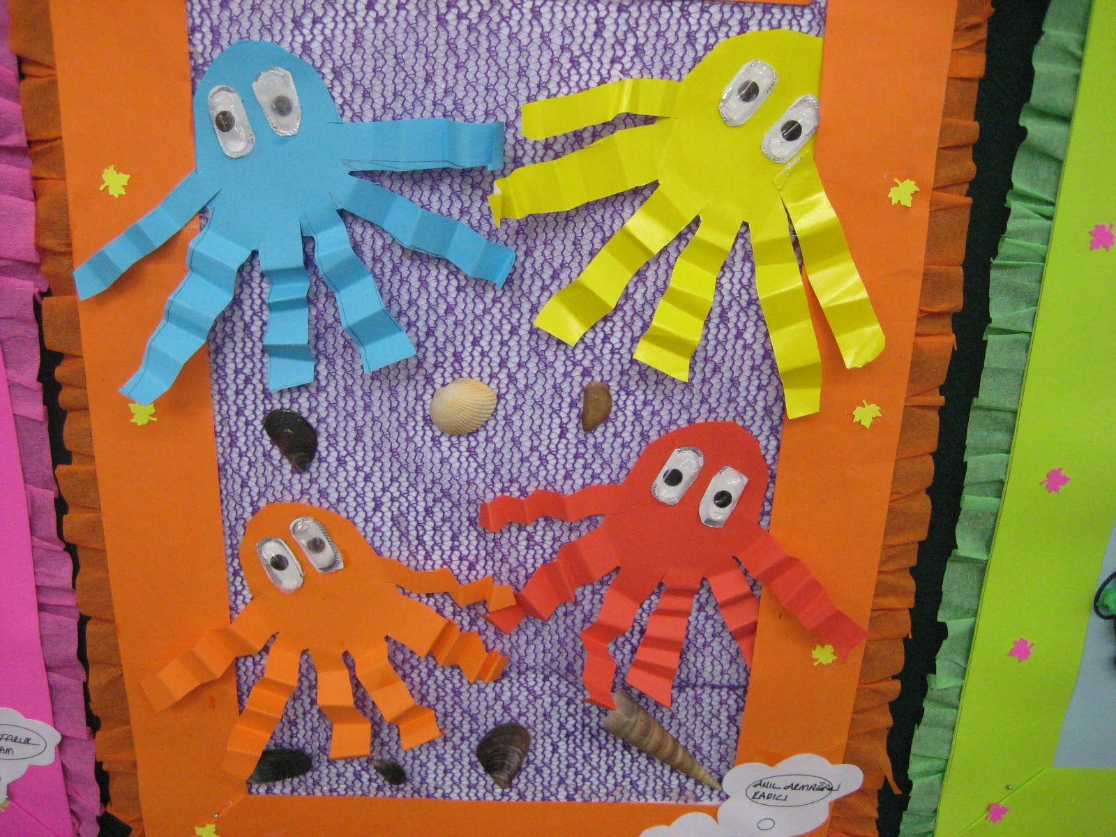 Accordion Animals Craft Idea For Kids