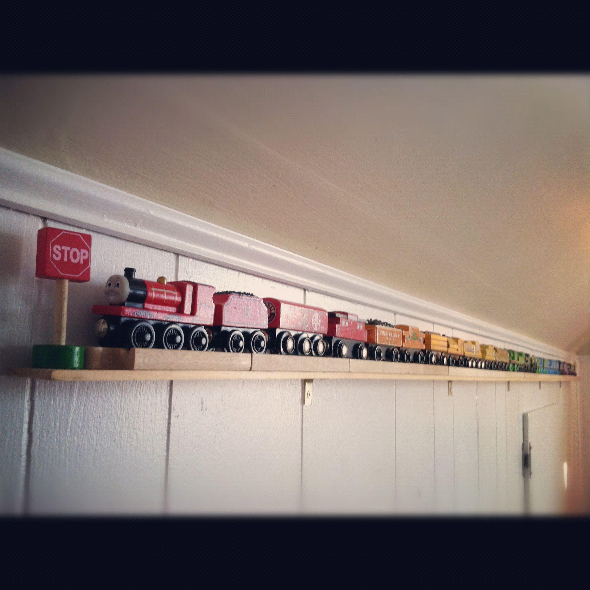 train storage shelf shelves trainstorage