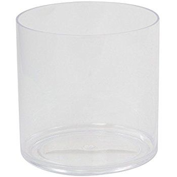 Amazon 6 Pack Clear Round Glass Vase Cylinder 5 Inch 5 X 5