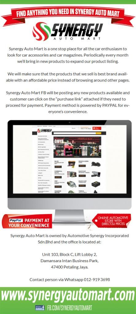 Www Synergyautomart Com Online Automotive Synergy With Images Car Accessories Automotive Car Magazine