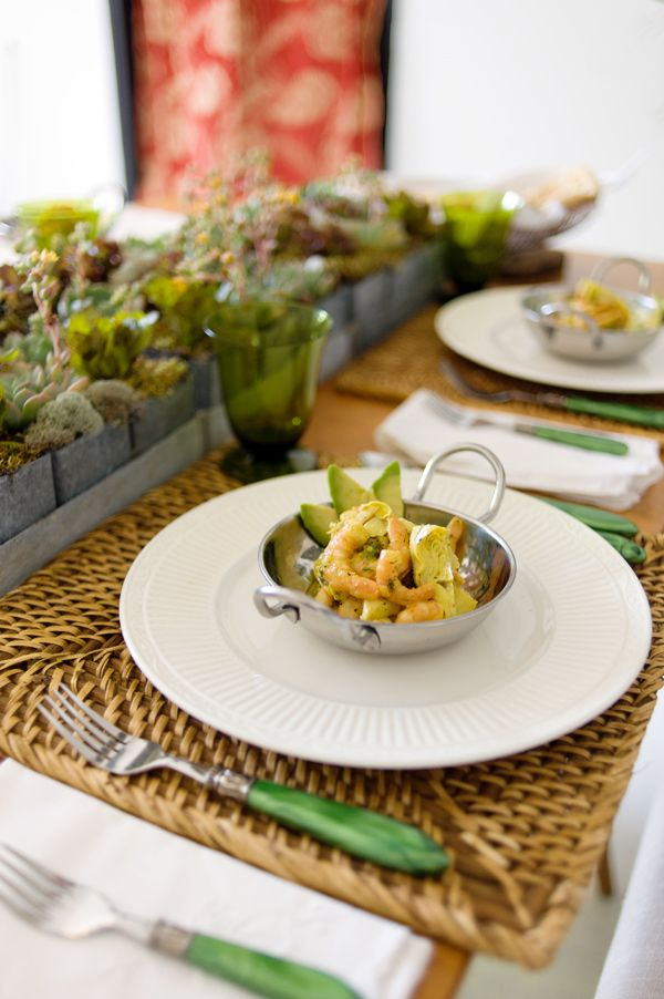 Curried Shrimp and Avocado Salad