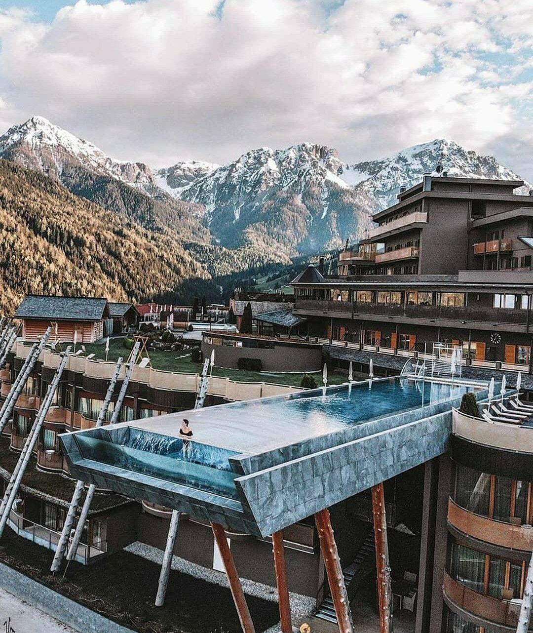 The Alpin Panorama Hotel Hubertus Designed By Lukas Rungger