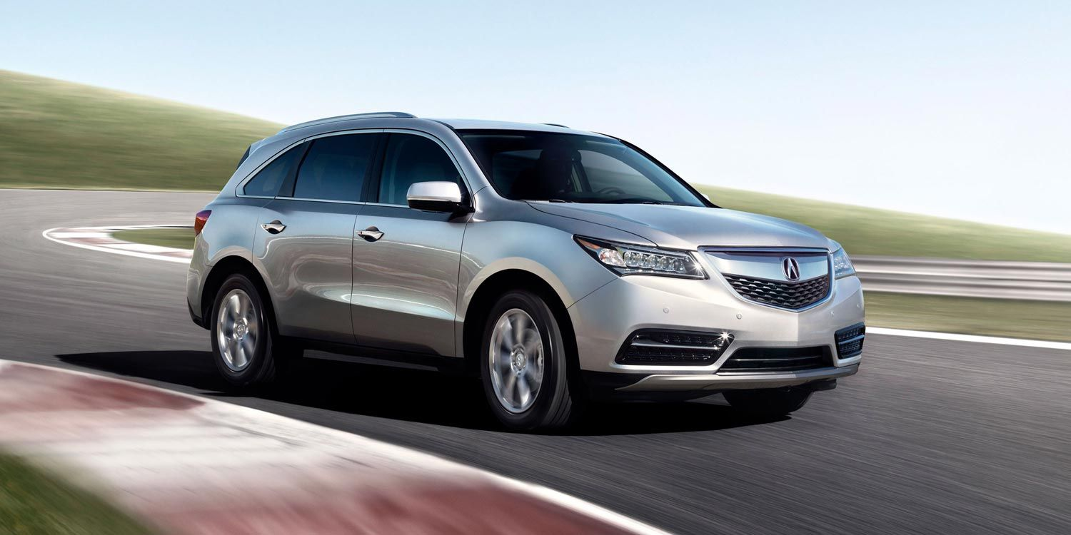 2014 Acura MDX sh awd with advance package and accessories