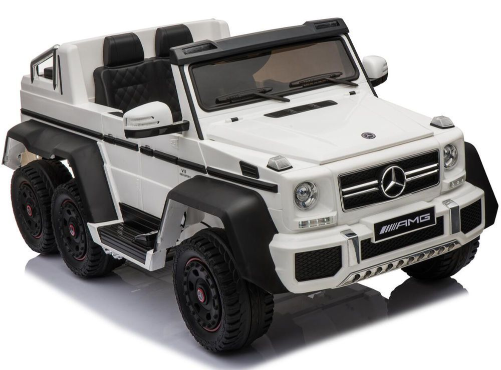 Mercedes G65 6 Wheel 12v Battery Powered Electric Ride On Kids Toy Car Remote Rc Mercedes Toy Cars For Kids Toy Car Kids And Parenting