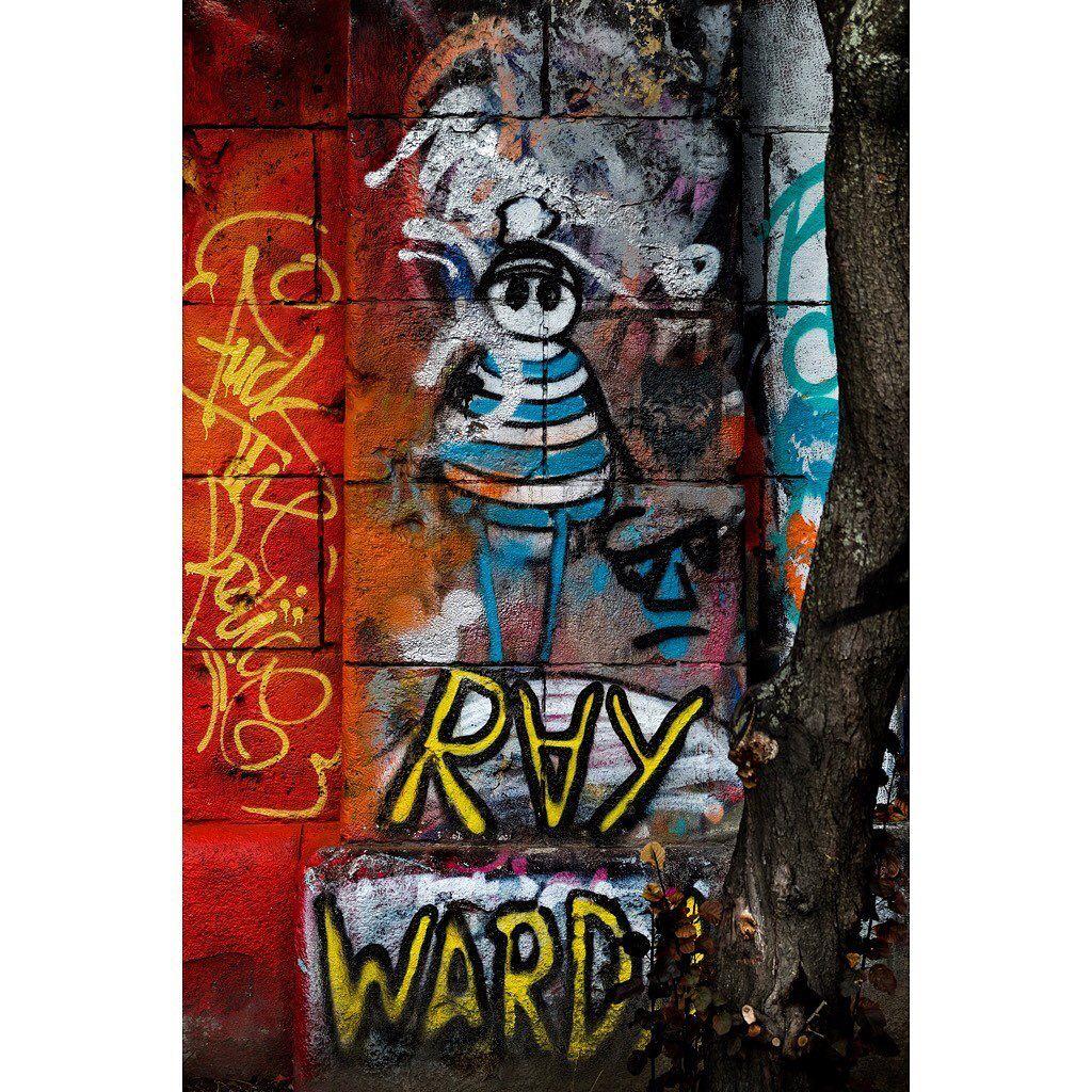 The Po-lice -  graffiti  streetart  color  colour  saturation  contrast  vienna  austria  travel -  fuji  fujixe2s  fujinon  fujixaus  myfujifilm  fujifilmglobal  mirrorless  mirrorlessrevolution