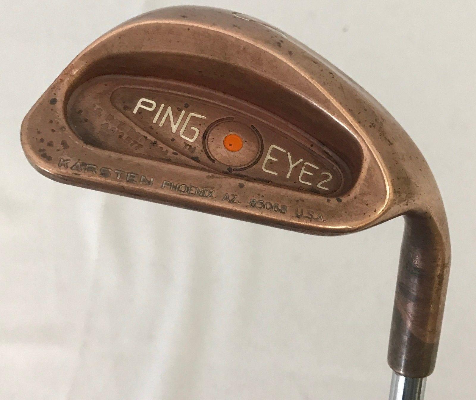 Ping Eye 2 Beryllium Copper Sand Wedge True Temper Steel Regular Flex