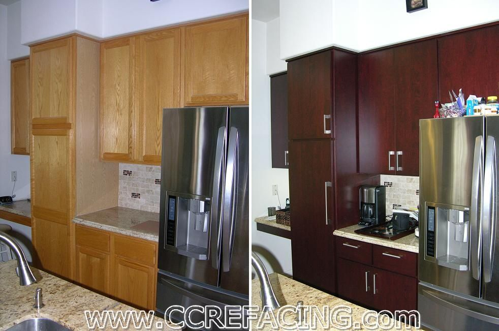 Project Location: Fremont, CA Project Details: Reface Cabinets With Door  Style CONTEMPO,