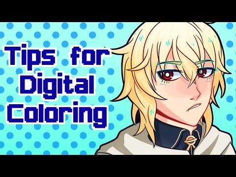 Digital Art- Coloring - YouTube