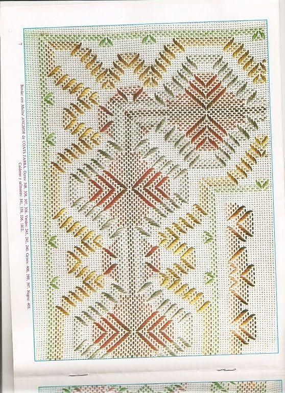 Beautiful on huck | Swedish Weaving Vintage Towel Tutorial | Pinterest