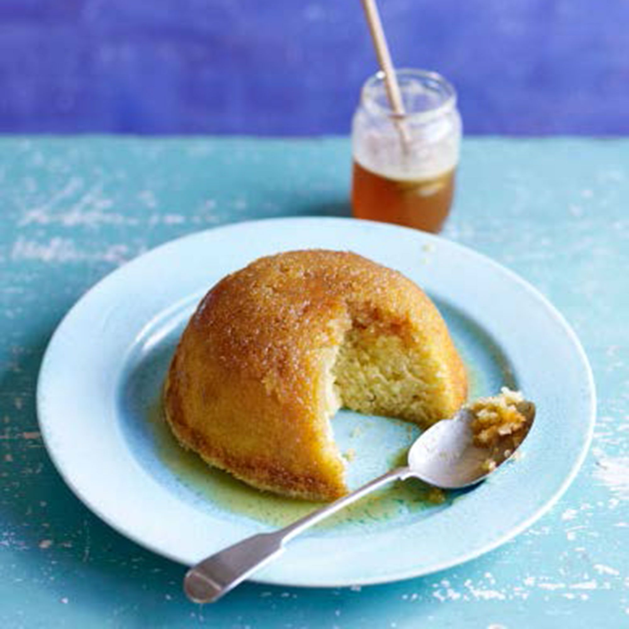 A light, fluffy steamed pudding that makes the most of fragrant Scottish heather honey. Taken from Paul Hollywood's Pies & Puds