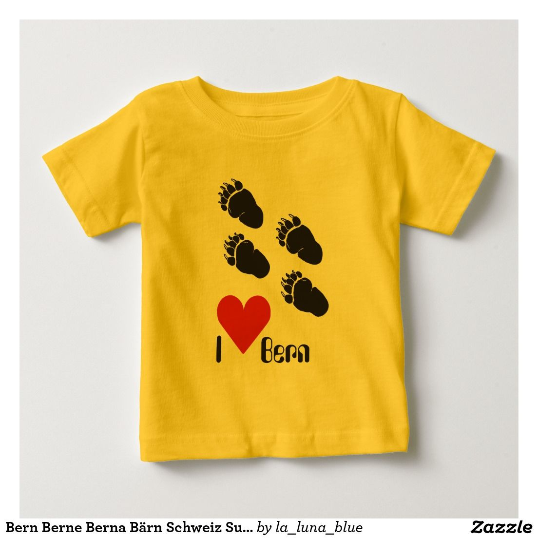 Bern Berne Berna Bärn Schweiz Suisse Svizzera Tshirt