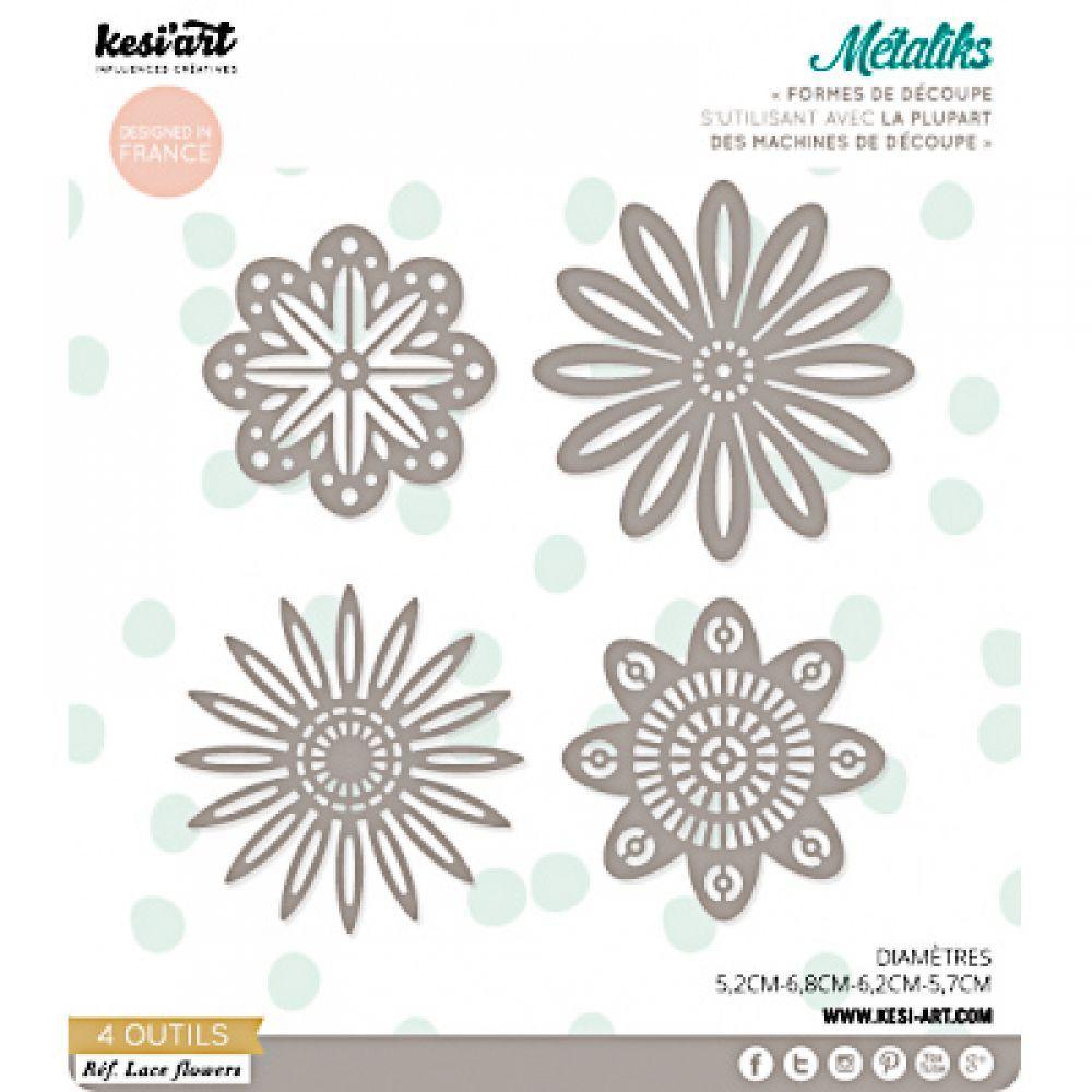 91bacc905613 Kesi Art Metaliks Lace Flowers - 19,99€   Cricut & SVG files   Lace ...