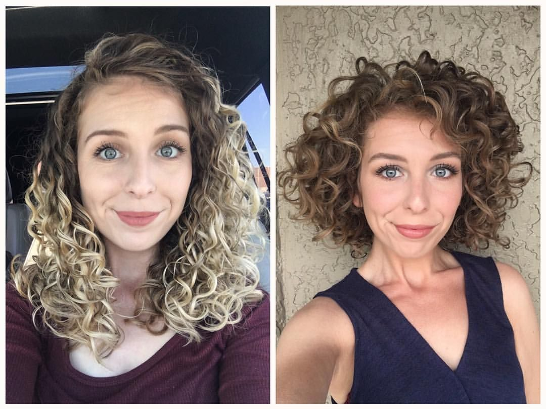 Long Hair Vs Short Hair I Find For My Curl Pattern 2c 3a That My Hair Tends To Get W Curly Hair Styles Curly Hair Styles Naturally Curly Bob Hairstyles