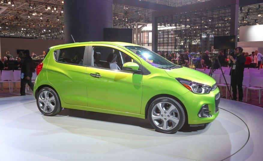 View 2016 Chevrolet Spark Revealed: GM Lights A Fire Beneath Its Tiny  Hatchback Photos From